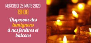 FETE DE L'ANNONCIATION 2020